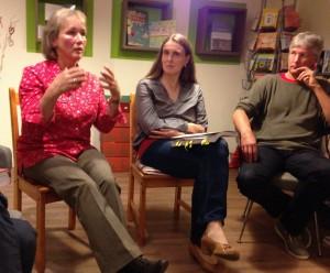 Chritine Aigner, Doris Seibold und Rainer-Maria Wieshammer