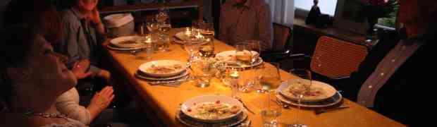Wir waren dabei, beim Zeit-Kochtag