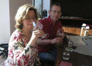 Das belgische Kriek Bier hat fruchtige, kirschige Noten
