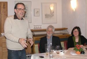 Ursula und Franz Anneser hatten den Abend mit Gottfried Sandböck organisiert.