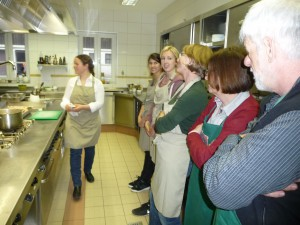 Einweisung in die Bio-Küche