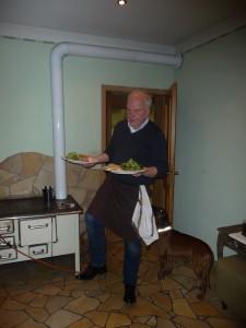 Wildkräuter-Salat-Service-Hürdenlauf