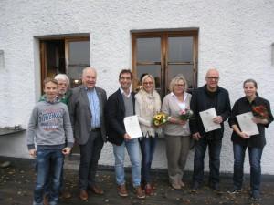 Drie Wirtsfamilien erhielten eine Aktualisierung des Genussführer-Siegels: Murrer, Wolf, Hafner
