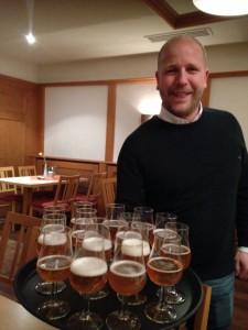 Craft-Biere sind der besondere Stolz von Michael Krieger